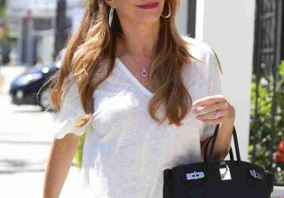 Sofia Vergara Spotted Wearing a Diamond Ring on THAT Finger!
