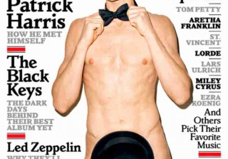 Neil Patrick Harris Nude on Rolling Stone, Talks Sexuality and Awkward Sex (PHOTO)