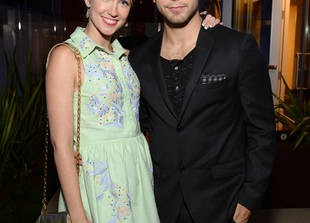 Pitch Perfect's Skylar Astin and Anna Camp: Still Going Strong! — Exclusive
