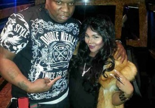 Pregnant Lil' Kim's Baby Bump Keeps Growing — She Her Latest Photo!