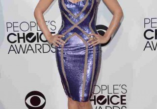Dancing With the Stars Pro Cheryl Burke Shows Off Slammin\' Figure at People\'s Choice (PHOTOS)