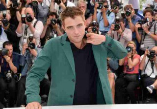 Robert Pattinson Gets Bizarre Haircut — What Is That on the Back of His Head? (VIDEO)