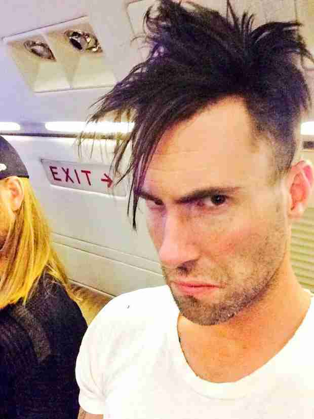Adam Levine S Shocking Haircut Is It Bad Hideous Or The