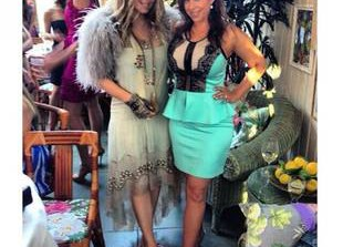 Pregnant Fergie Steps Out For Her Sister's Bridal Shower