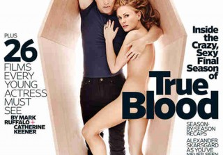 Anna Paquin and Stephen Moyer Pose For Uncensored Portraits