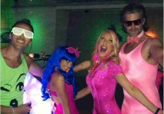 Slade Smiley Wore a Tight Pink One-Piece to Lydia McLaughlin\'s Birthday Party (PHOTOS)