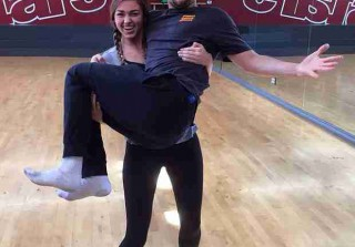 Sadie Robertson Threw Up on Mark Ballas During Dancing With the Stars Semifinals?!