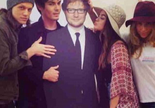 Lucy Hale and Tyler Blackburn Really Want a Piece of Ed Sheeran (PHOTO)