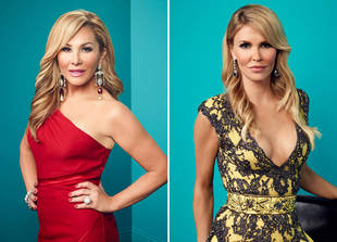 Brandi Glanville and Adrienne Maloof Already Fighting!