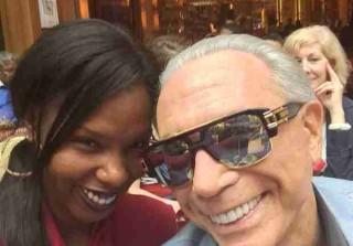 Aviva Drescher's 76-Year-Old Dad George Defends Engagement to Girlfriend, 25