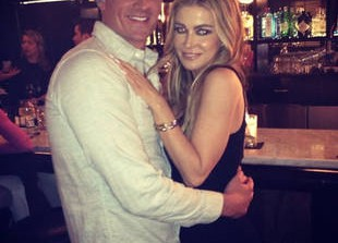 Ryan Lochte and Carmen Electra Seen Kissing: Are They Dating?