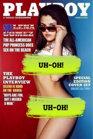 Cover Playboy Gomez Selena#4