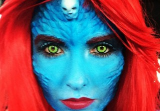 Which Reality TV Star Totally Transformed Into X-Men\'s Mystique For Comic-Con? (PHOTOS)