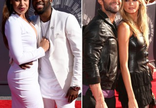 VMAs 2014 — Cutest Couple Moments on the Red Carpet! (PHOTOS)
