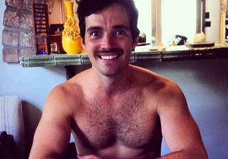 Ian Harding Rocks a Mustache in Epic Shirtless Selfie (PHOTO)