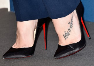 Which Big-Screen Vamp Showed Off Her Foot Tattoo in Louboutins? (PHOTO)