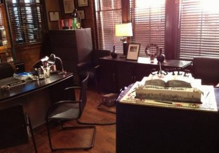 Castle Cast and Crew Celebrates 100th Episode! (PHOTOS)