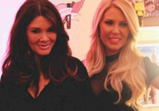 Lisa Vanderpump Hangs With Gretchen Rossi — Housewives Crossover! (PHOTO)