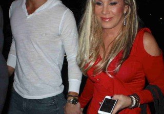 Adrienne Maloof and Jacob Busch Are Hot at Elton John Concert (PHOTOS)