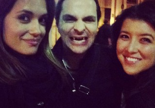 Torrey DeVitto Gets Close to a Vampire — But There\'s a Catch (PHOTO)