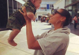 Evelyn Lozada's Son Carl Leo Is Fiancé Carl Crawford's Mini-Me! (PHOTO)