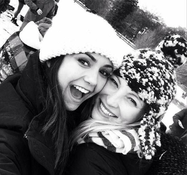 Vampire Diaries Stars Candice Accola and Nina Dobrev Go ...