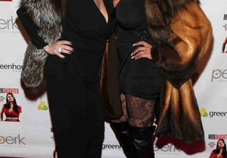 Mob Wives\' Throwback: Big Ang and Renee Graziano Like You\'ve Never Seen Them! (PHOTO)