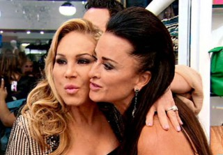 "Kyle Richards and Adrienne Maloof Are ""Catching Up"" — Still Pals?"