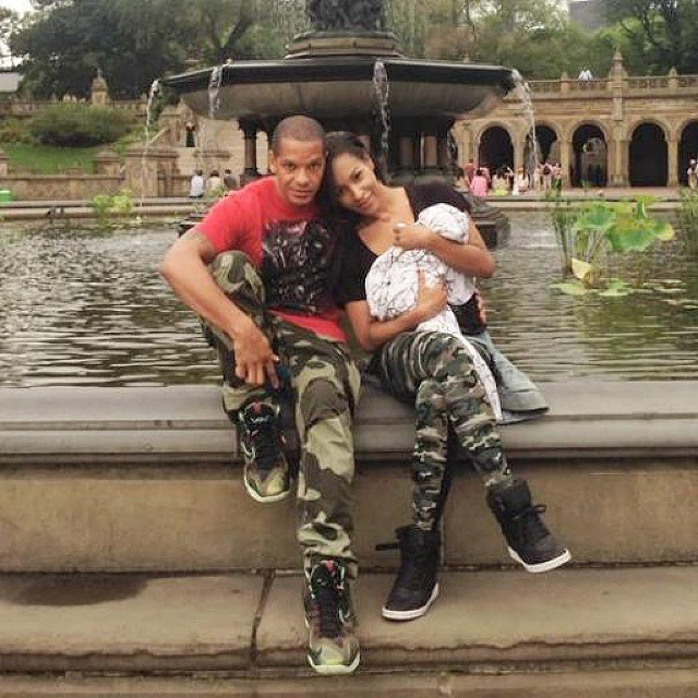 Amina Buddafly and Peter Gunz Step Out For Family Fun (PHOTO)