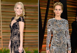 See the Stars' Sexiest After Party Dresses at 2014 Vanity Fair Oscar Party (PHOTOS)
