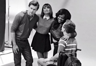 Glee Season 6: Cast Snaps Pics From Yearly Photoshoot — Their Last!