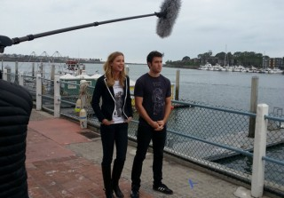 Revenge's Emily VanCamp and Josh Bowman Film an Adorable PSA Together! (PHOTO)