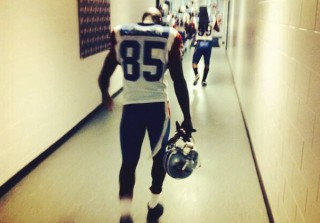 """See Chad """"Ochocinco"""" Johnson in His New Football Uniform: """"Thank God For Second Chances"""" (PHOTO)"""