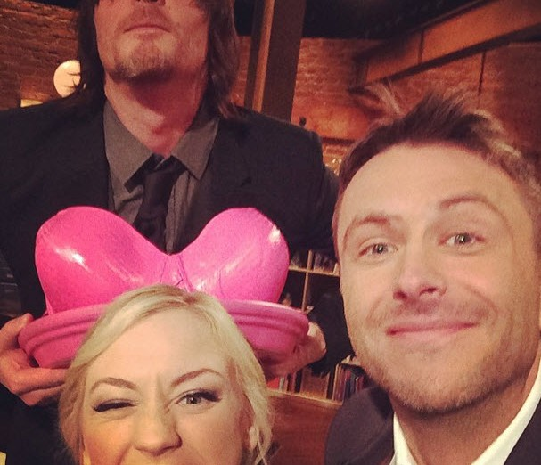 Norman reedus dating emily kinney