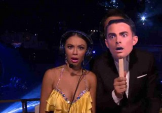 Dancing With the Stars 2014 Recap: Pitbull, Leah Remini, Season 19 Week 6  — Spanks For the Memories?