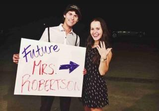 Duck Dynasty\'s John Luke Robertson Turns 19, Gets Engaged (PHOTO)