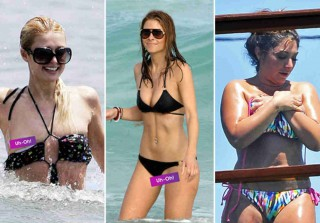 Celebrity Swimsuit Malfunctions — The Bikini Can't Hold Us! (PHOTOS)