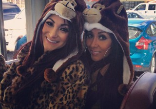 Snooki and Deena Nicole Have a Besties Reunion — Meatball Power! (PHOTOS)