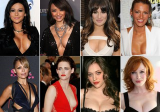 Breast Friends: Celebrity Cleavage Twins (PHOTOS)