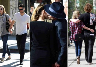 Celeb Couple Watch! Johnny & Amber, Emily & Josh, and More in the Week of 2/9 (PHOTOS)