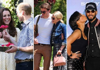 Celeb Couple Watch! William & Kate, Dianna & Thomas, and More in the Week of 4/20 (PHOTOS)