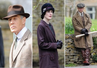 Downton Abbey Season 5 Spoiler Photos: The Cast Films in the Village!
