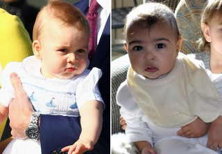 Who\'s Older, Baby Photoshop Scandal Edition: Prince George or North West? (PHOTO)