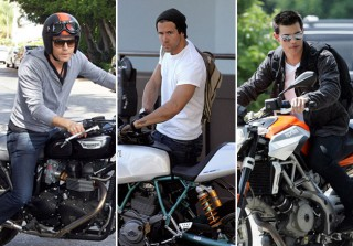 17 Celebs Who Will Rev Your Engine: Hot Stars Who Ride Motorcycles (PHOTOS)