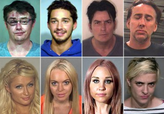 Celebrity Mug Shots: From Oddly Sexy to Just Plain Crazy (PHOTOS)