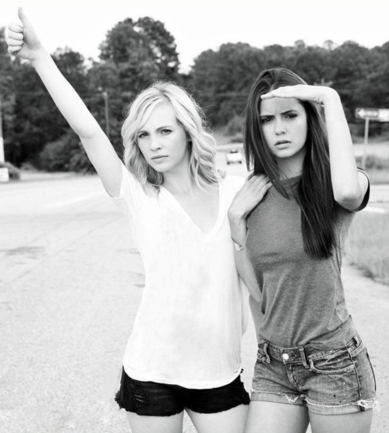 Nina dobrev and candice accola best friends