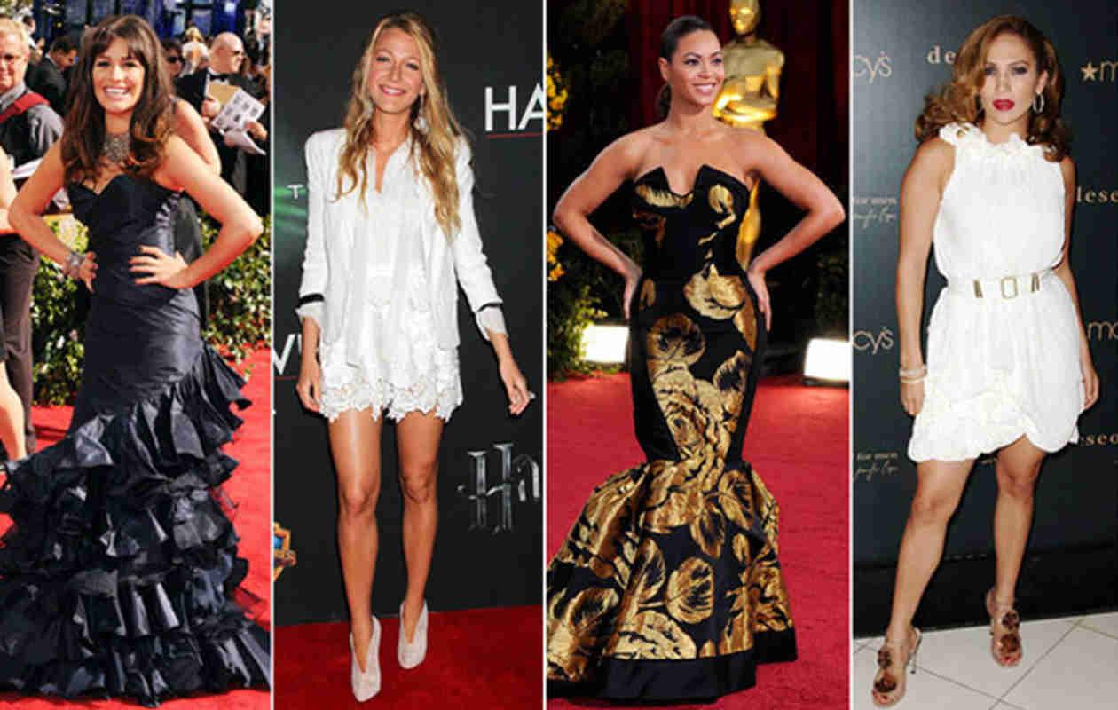 Celebrity Signature Red Carpet Poses (PHOTOS)