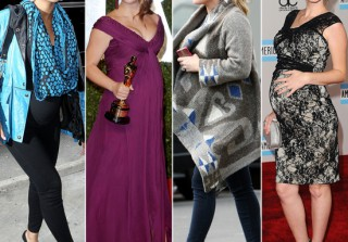 Pregnant Celebrities in Heels: Moms-to-Be Stuck on Stilettos