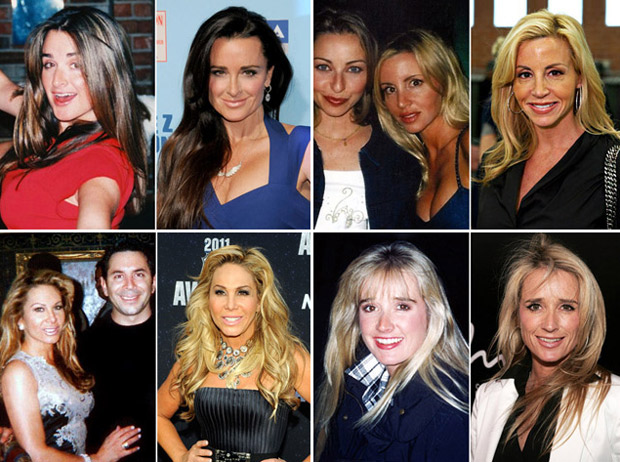 Real Housewives Before And After