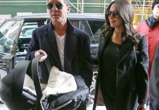 See Simon Cowell and Lauren Silverman\'s Newborn Son — Adorable Photo!